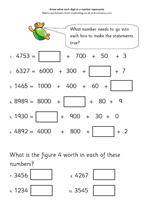 math worksheet : y4 maths worksheet place value  maths blog : Place Value Maths Worksheets