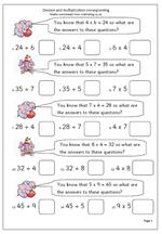 multiplicationanddivision  maths blog multiplicationanddivision