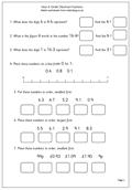 math worksheet : maths worksheet year 4 order decimal fractions  maths blog : Ordering Fractions And Decimals Worksheet