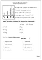 math worksheet : year 6 maths worksheet decimal fractions  maths blog : Reading And Writing Decimals Worksheets