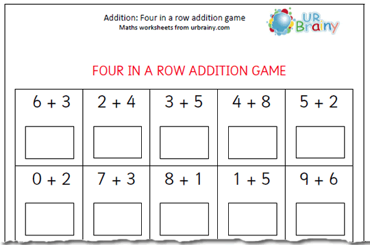 1 Maths Worksheets Free Scalien – Addition Worksheets for Year 1