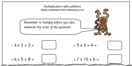 Free Year 4 Maths Worksheets Maths Blog Part 9