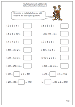 math worksheet : free year 4 maths worksheets  maths blog  part 4 : Maths For Year 4 Worksheets