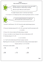 math worksheet : year 6 maths worksheet factors  maths blog : Factors And Multiples Worksheets