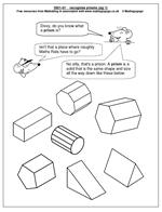math worksheet : year 1 3d shape worksheet  maths blog : Maths 3d Shapes Worksheets