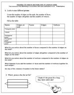 math worksheet : resource of the week 3d shape  maths blog : Maths 3d Shapes Worksheets