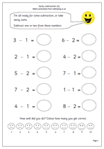 math worksheet : year 1 maths worksheet counting on in tens  maths blog : Subtraction Worksheets Year 1