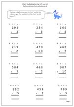 math worksheet : free worksheets maths four rules  maths blog : Column Multiplication Worksheets