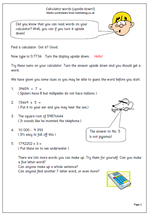 free worksheets maths with a calculator  maths blog as