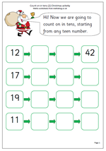 math worksheet : free year 1 maths worksheets  maths blog : Christmas Maths Worksheets Ks1